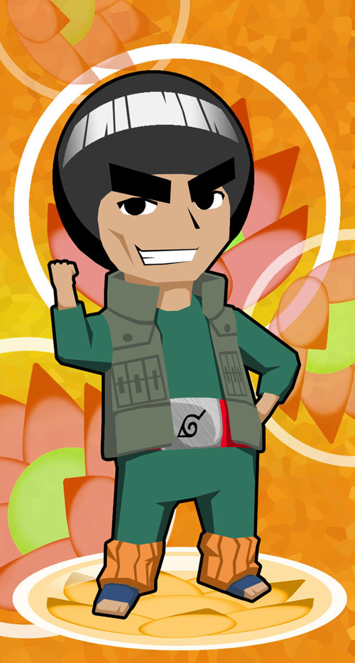 Rock Lee no Seishun Full-Power Ninden Captura 01