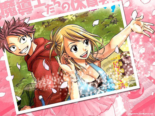 Fairy Tail Manga Portada 002