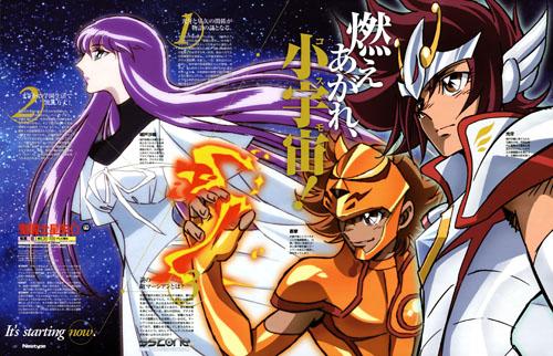 Saint Seiya Omega Portada 02