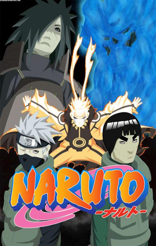 Naruto Manga Portada 01